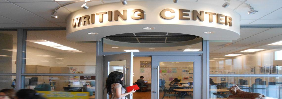 Image of Writing Center entrance