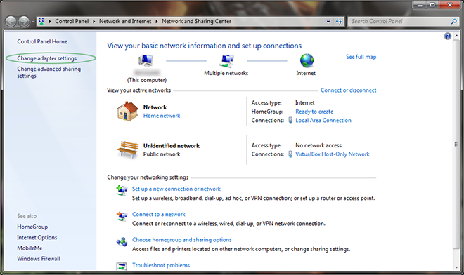 Windows 7 - Converting from Static to Dynamic IP | Information